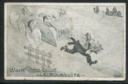 CARTE CARICATURE - NEMO - La Poursuite - La Coupe Gordon Bennet - Sports Automobiles - Satira