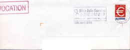 ADH 24 Flamme De SIDA INFO Cachet Du15/02/2000 à TOURS - Marcophilie (Lettres)