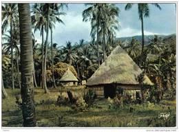 Carte Postale Nouvelle Calédonie Les Cases Aux Env. De Balade Trés Beau Plan - Nueva Caledonia