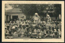 AFRIQUE - DAHOMEY - L'Ouvroir De Cotonou - Dentellières - Dentelles - Dahomey