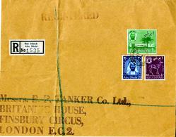ABU DHABI  1966 PART Of A LARGE COVER SEND To ENGLAND. - Abu Dhabi