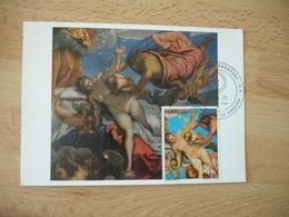 Tintoretto Parguay Cm C M Carte Maximum - Paraguay