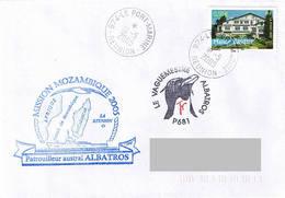 Patrouilleur ALBATROS - Mission Mozambique 2005 - Scheepspost