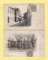 Type Blanc - Medeah Alger - Lot De 2 Cartes - 1877-1920: Période Semi Moderne