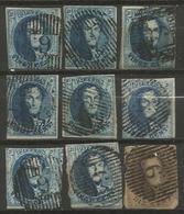 Belgique - Médaillons - Oblitérations D9 BREE - Postmarks - Lines: Distributions