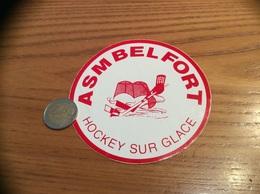 AUTOCOLLANT, Sticker «HOCKEY SUR GLACE - ASM BELFORT (90)» - Autocollants
