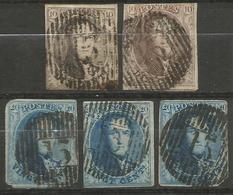 Belgique - Médaillons - Oblitérations D13 DOUR - Postmarks - Lines: Distributions