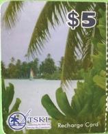 "KIRIBATI  -   Prepaid  -  Mini $5   -  "" TSKL "" - Kiribati"