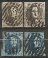 Belgique - Médaillons - Oblitérations D22 HERBESTHAL - Poststempels/ Marcofilie