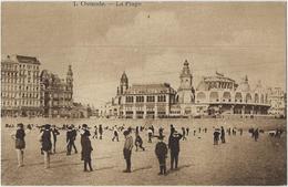 Ostende.   -    La Plage. - Oostende
