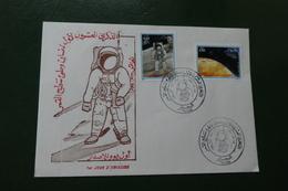Enveloppe Lettre  Timbre FDC ALGERIE 21 07 1989 - Algérie (1962-...)