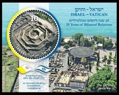 2019IsraelBJoint Edition Of Israel And The Vatican - Ungebraucht (mit Tabs)