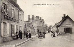OUZOUER -sur-LOIRE : Grande Rue . - Ouzouer Sur Loire