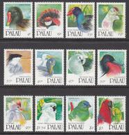 1991 Palau Birds Definitives Part I Complete Set Of 12 MNH @ 60% FACE VALUE - Oiseaux
