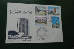 Enveloppe Lettre  Timbre FDC ALGERIE 24 12 1987 SAIDA - Algérie (1962-...)
