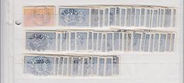 Zweden Kleine Verzameling Dienstzegels Tussen Michel-nr 14 En 16 Veel Leesbare Rondstempels - Dienstpost