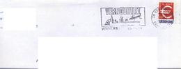 ADH 24 Flamme De VERNOUILLET Cachet Du 10/12//2000 - Marcophilie (Lettres)