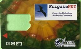 "KIRIBATI  -  Carte SIM - "" FrigateNet "" TSKL - Coque Sans Ppuce - Kiribati"