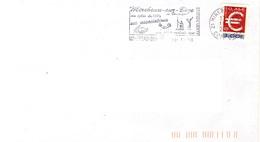 ADH 24 Flamme De MIREBEAU Sur BEZE  Cachet Du 19/01/2000 - Marcophilie (Lettres)