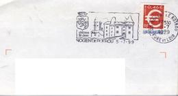ADH 24 Flamme De NOGENT Le ROTROU  Cachet Du 05/07/1999 - Marcophilie (Lettres)