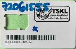 "KIRIBATI  -  Carte SIM -  "" TSKL Connecting Kiribati "" -  Coque Sans Puce - Kiribati"