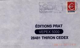 ADH 24 Flamme De St JEAN De VEDAS  Cachet Du 23/02/2000 - Marcophilie (Lettres)