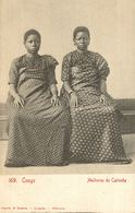 Cpa ANGOLA - CONGO PORTUGUESA - ETHNIC, Mulheres De Cabinda, OSORIO & SEABRA - Angola