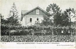 PORTUGAL-- POSTCARDS-  PORTO-- VILLA DE BARREIROS-- VIVENDA CHARLES F. CHAMBERS - Porto