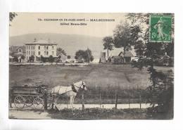 25 - Excursion En Franche-Comté - MALBUISSON - Hôtel Beau-Site. Attelage Au Premier Plan - Baume Les Dames