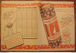 Ancien Protège Cahier Publicitaire Chicorée Leroux Orchies - Coffee & Tea