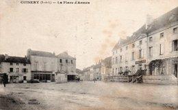 CUISERY-LA PLACE D ARMES - Francia