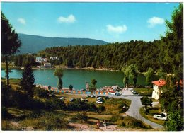 Altipiano Di Lavarone (Vi). Il Lago Col Lido. VG. - Vicenza