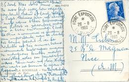 Cachet Foire Exposition La Rochelle 1960 Sur CPM - Altri