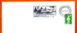 78 CARRIERES SUR SEINE   SON GOLF  1992 Lettre Entière N° MN 462 - Marcophilie (Lettres)