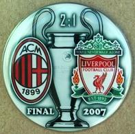 Pin Champions League UEFA Final 2007 AC Milan Vs Liverpool - Fútbol