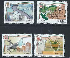 Italie YT 2865-2868 XX / MNH - 6. 1946-.. Republic
