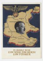 DR P 268 Berlin 10.4.38 Dem Führer Dein Ja - Lettres & Documents