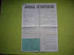 Journal De Coutances 1849 Manche - Journaux - Quotidiens