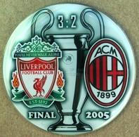 Pin Champions League UEFA Final 2005 Liverpool Vs AC Milan - Fútbol