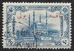 TURQUIE  1913 -  Taxe N°  51 -  Surchargé  - Oblitéré - 1858-1921 Ottoman Empire