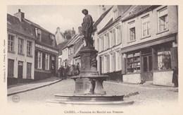 Cassel, Nord, 59, Fontaine Du Marché Aux Pommes (pk68036) - Cassel
