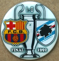 Pin Champions League UEFA Final 1992 Barcelona Vs Sampdoria Genova - Fútbol