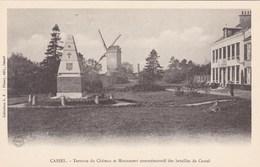 Cassel, Nord, 59, Terrasse Du Château Et Monument Commémoratif Des Batailles De Cassel (pk68040) - Cassel