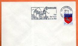 35 COMBOURG   FETE DES FLEURS     1968 Lettre Entière N° FG 85 - Marcophilie (Lettres)