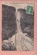 OLD POSTCARD - SWITZERLAND - SUISSE -    SCHWEIZ -    FUNICULAIRE NEUCHATEL - CHAUMONT - LA GRANDE RAMPE - NE Neuchâtel