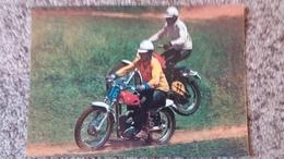 CPSM MOTO MOTOS CROSS  ? FIGURE ? CHAMPS ? ED KRUGER - Motos
