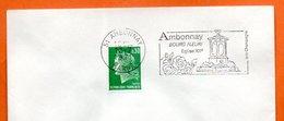51 AMBONNAY  EGLISE XII°    1971 Lettre Entière N° FG 125 - Marcophilie (Lettres)