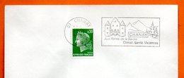 01 CHANAY  AUX PORTES DE LA SAVOIE   1971 Lettre Entière N° FG 126 - Marcophilie (Lettres)