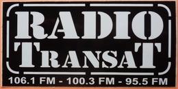 AUTOCOLLANT STICKER - RADIO TRANSAT - Autocollants