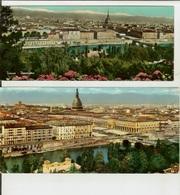 Torino: Lotto 5 Cartoline Grandangolo E Maxi Anni '50-'60 - Italie